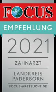 Blendent: Focus Money Empfehlungssiegel 2020