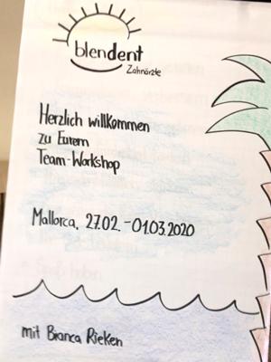 Praxiswokshop Mallorca Blendent Zahnarzt Paderborn